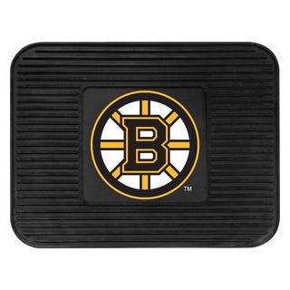 Fanmats Boston Bruins Black Rubber Utility Mat