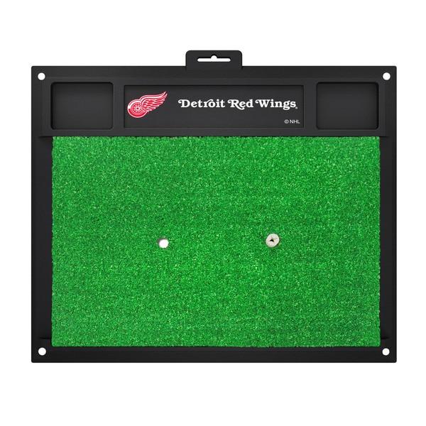 Fanmats Detroit Red Wings Green Rubber Golf Hitting Mat