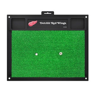 Fanmats Detroit Red Wings Green Rubber Golf Hitting Mat