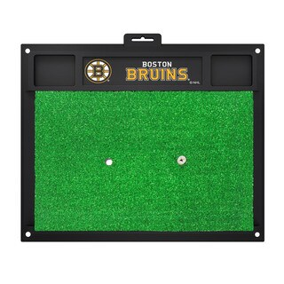 Fanmats Boston Bruins Green Rubber Golf Hitting Mat