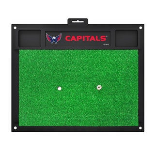 Fanmats Washington Capitals Green Rubber Golf Hitting Mat
