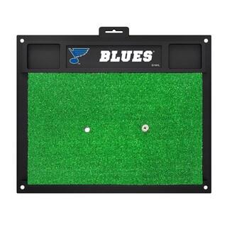 Fanmats St Louis Blues Green Rubber Golf Hitting Mat