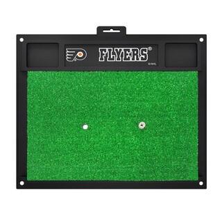 Fanmats Philadelphia Flyers Green Rubber Golf Hitting Mat