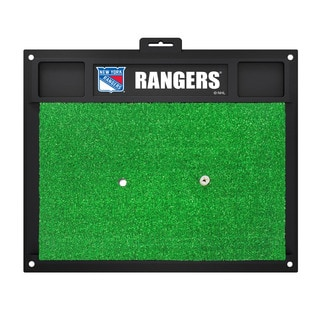Fanmats New York Rangers Green Rubber Golf Hitting Mat