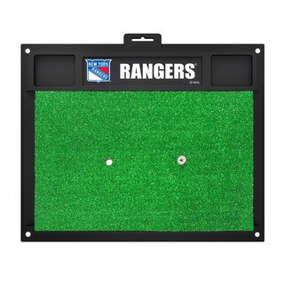 Fanmats New York Rangers Green Rubber Golf Hitting Mat