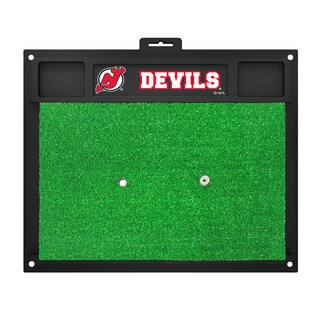 Fanmats New Jersey Devils Green Rubber Golf Hitting Mat|https://ak1.ostkcdn.com/images/products/10562970/P17640930.jpg?impolicy=medium