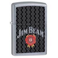 Zippo Jim Beam Street Chrome Lighter