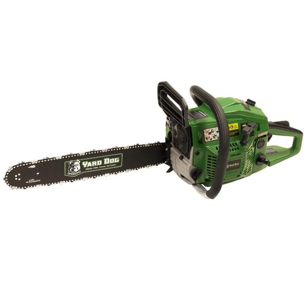 Yard dog 18 inch gas chainsaw green free shipping today yard dog 18 inch gas chainsaw green greentooth Gallery