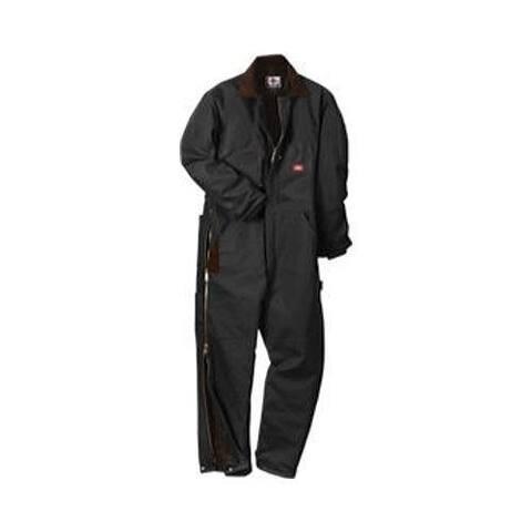 Men's Dickies Premium Insulated Coverall Short Black