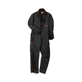 Men's Dickies Premium Insulated Coverall Short Black