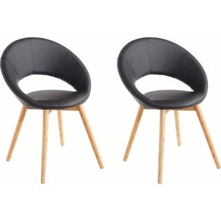 Scandinavian Lifestyle Texas Dining Chair (Set of 2)