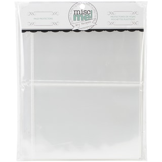 Misc Me Recipe Page Protectors 8inX9in 40/PkgVariety Pack