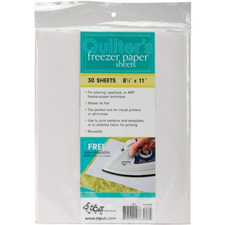 Quilter's Freezer Paper Sheets8.5inX11in 30/Pkg