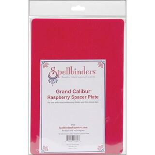 Spellbinders Grand Calibur Spacer Plate 8.25inX11.75inRaspberry