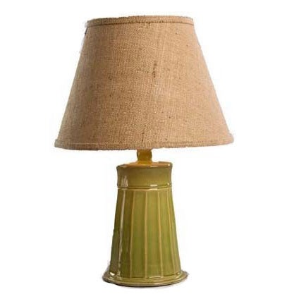 Cookie Porcelain Sea Green 21-inch Table Lamp