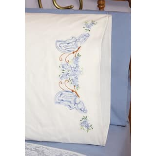 Stamped Perle Edge Pillowcases 30inX20in 2/PkgTwin Butterflies|https://ak1.ostkcdn.com/images/products/10564482/P17642249.jpg?impolicy=medium