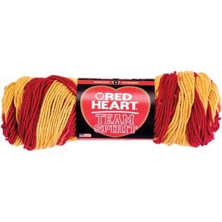 Red Heart Team Spirit YarnBurgundy & Gold