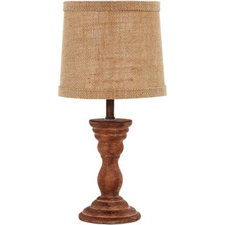 Somette Randolph Textured Copper 12-inch Accent Lamp