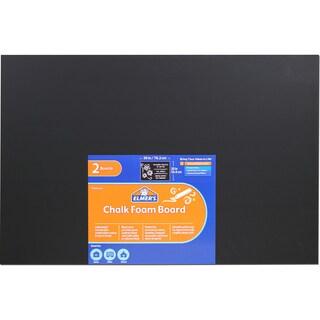 Elmer's Chalk Foam Boards 20inX30in 2/PkgBlack