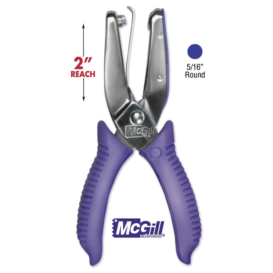 MC Gill Punchline 2in Reach Hand Punch.3125in Round (.312...