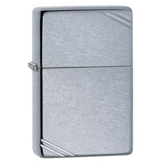 Zippo Vintage Street Chrome Vintage Street Chrome Windproof Lighter