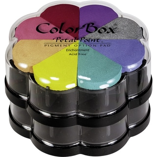 ColorBox Pigment Petal Point Option Pad 8 ColorsEnchantment