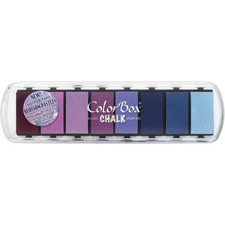 ColorBox Fluid Chalk Paintbox Option Ink Pad 8 ColorsBlossom Pastel