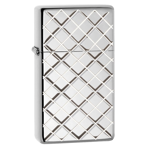 Zippo Slim Armor High Polish Chrome Windproof Lighter