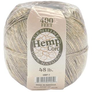 Hemp Cord 48lb 400'Natural