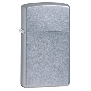Zippo Slim Street Chrome Lighter