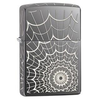 Zippo Black Ice Web All Over Windproof Lighter