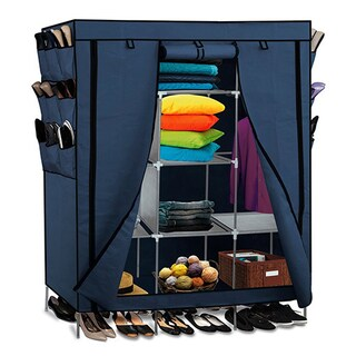 Portable Wardrobe Closet Storage Organizer (3 options available)