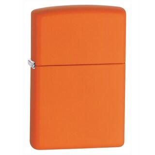 Zippo Orange Matte Lighter