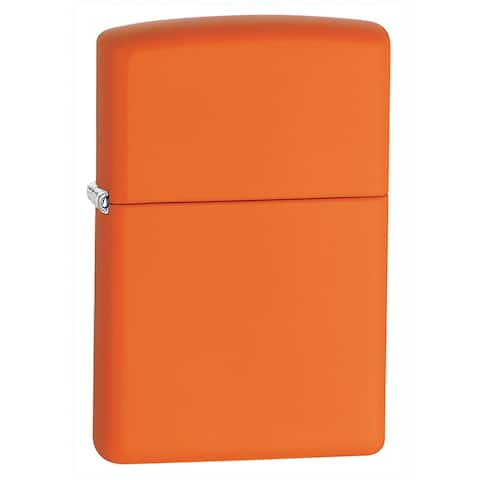 Zippo Orange Matte Lighter