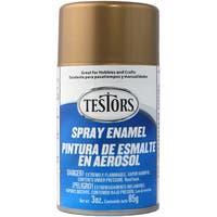 Testors Spray Enamel 3ozMetallic Gold
