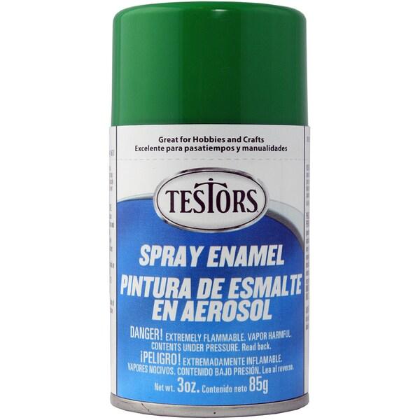 Testors Spray Enamel 3ozGreen