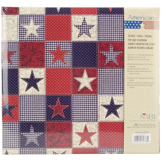 American Stars Post Bound Album 12inX12in