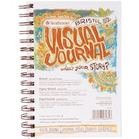 Strathmore Visual Journal Bristol Smooth 5.5inX8in28 Sheets