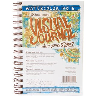 Strathmore Visual Journal Watercolor 5.5inX8in22 Sheets