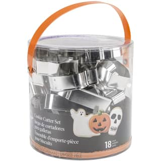 Cookie Cutter Tub 18pcsHalloween|https://ak1.ostkcdn.com/images/products/10565153/P17642818.jpg?impolicy=medium