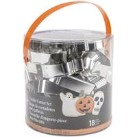 Cookie Cutter Tub 18pcsHalloween