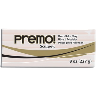 Premo Sculpey Polymer Clay 8ozTranslucent