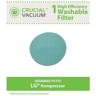 LG Kompressor LuV300B Washable Foam Pre Filter