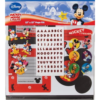 Disney Mickey Page Kit 12inX12inMickey & Friends