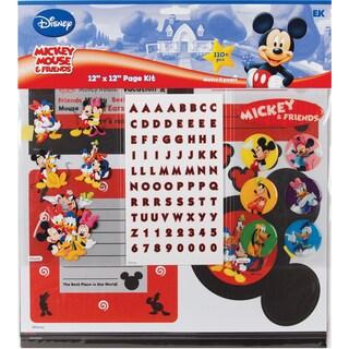 Disney Mickey Page Kit 12inX12inMickey & Friends