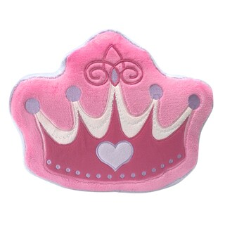 Princess Crown Decorative Pillow