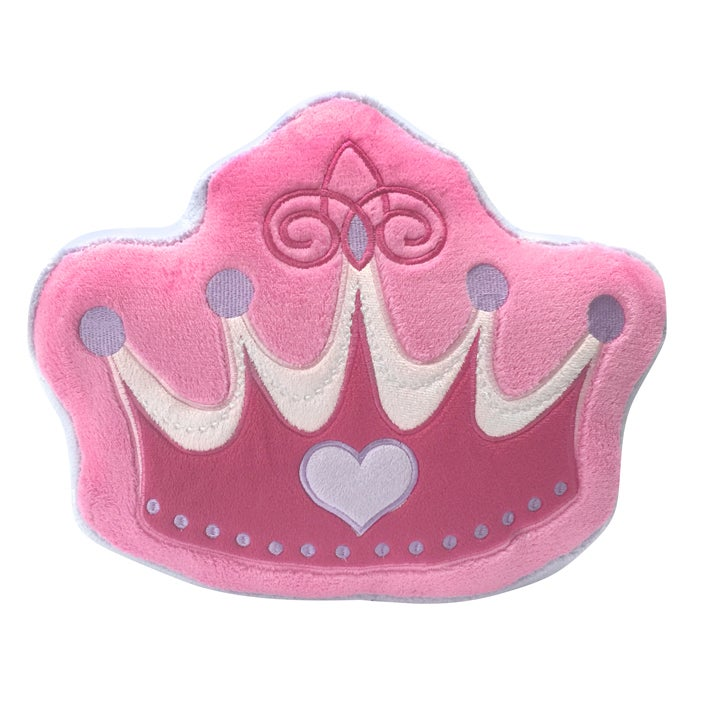 Princess Crown Decorative Pillow (Pink), Size Specialty (...