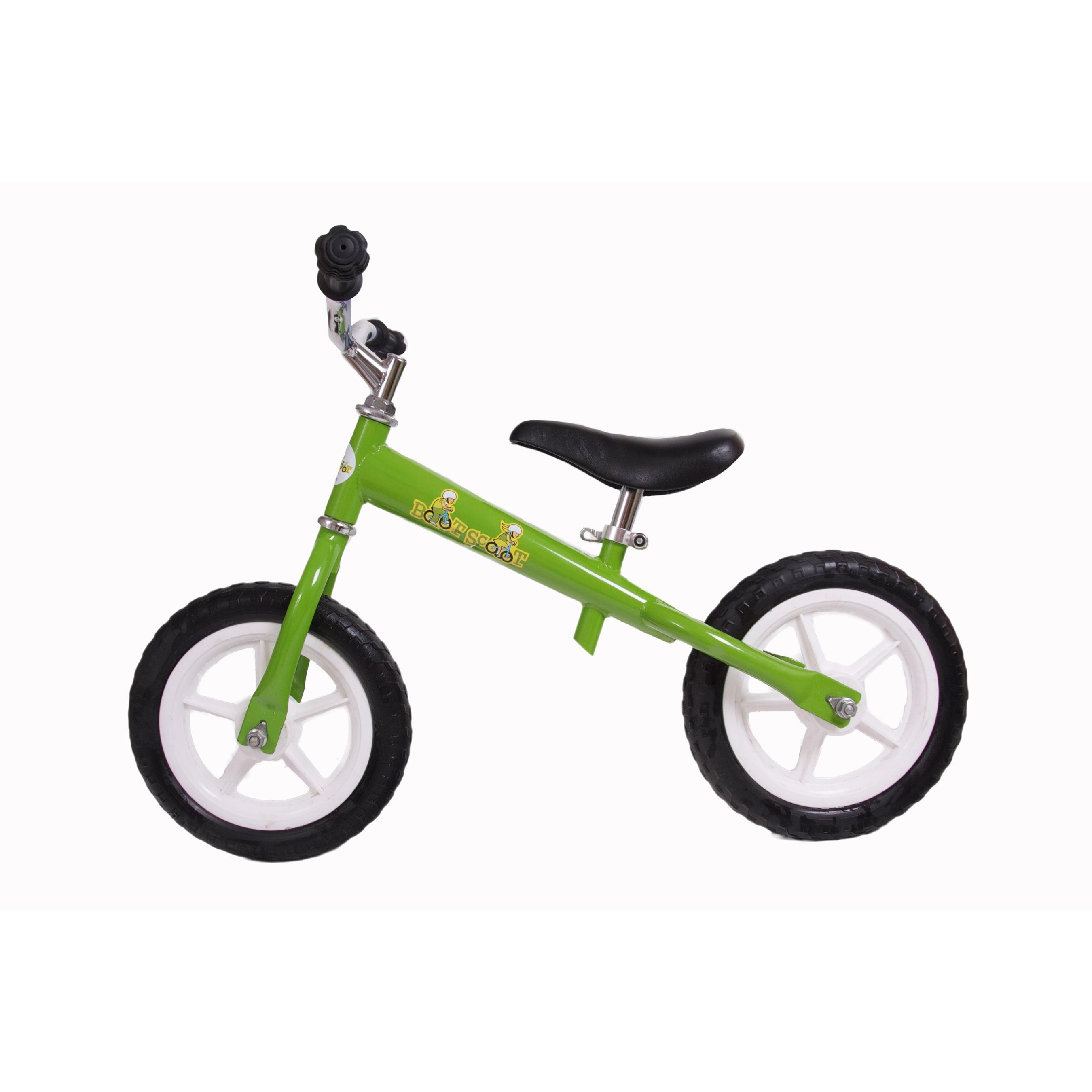 Boot Scoot Bikes Zoomer Balance Bike (Green), Size 12-inch