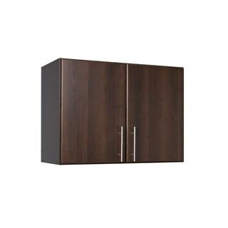 Everett Espresso Elite 32-inch Stackable Wall Cabinet