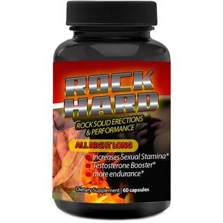 Rock Hard Male Enhancement Advanced Libido Booster (60 Capsules)